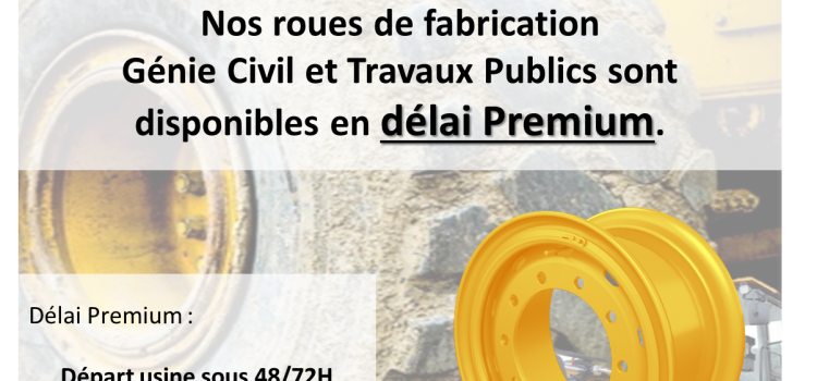 FRANCO et délai premium sur nos roues de fabrication !